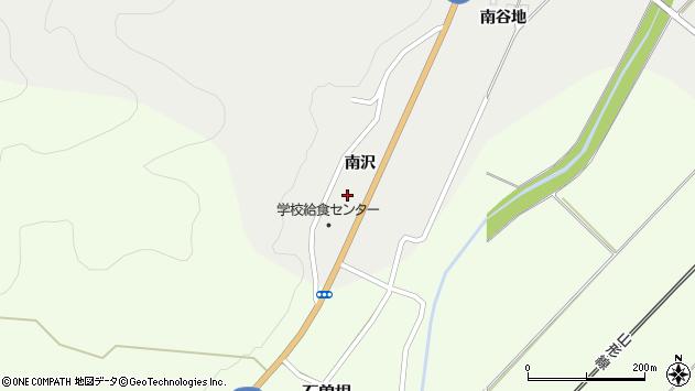 山形県上山市高松南谷地1213周辺の地図