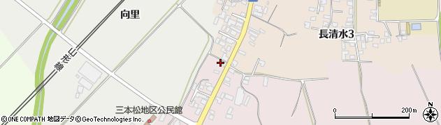 山形県上山市三本松55周辺の地図