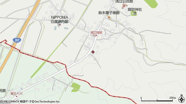 山形県西置賜郡白鷹町浅立4129周辺の地図
