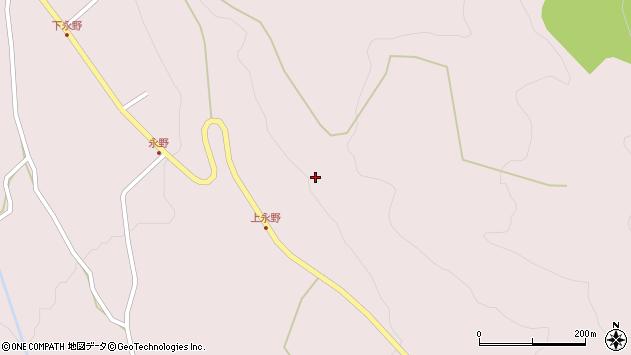 山形県上山市永野ソリメ148周辺の地図