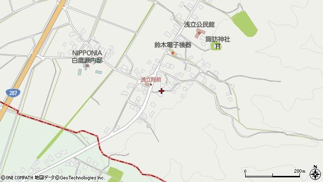 山形県西置賜郡白鷹町浅立4079周辺の地図