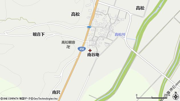 山形県上山市高松1161周辺の地図
