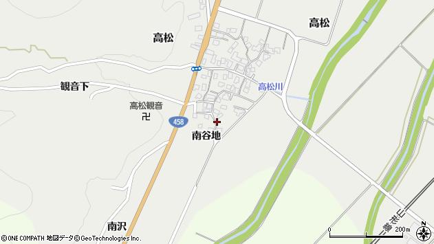 山形県上山市高松1158周辺の地図