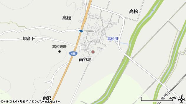 山形県上山市高松89周辺の地図