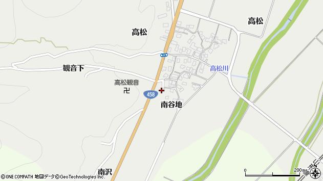 山形県上山市高松1106周辺の地図