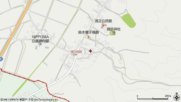 山形県西置賜郡白鷹町浅立4029周辺の地図
