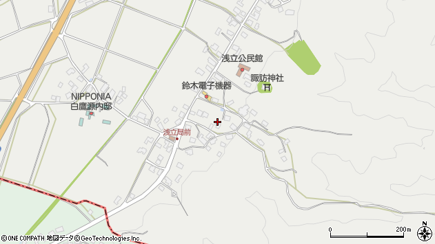 山形県西置賜郡白鷹町浅立4063周辺の地図