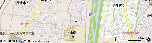 山形県上山市石堂9周辺の地図