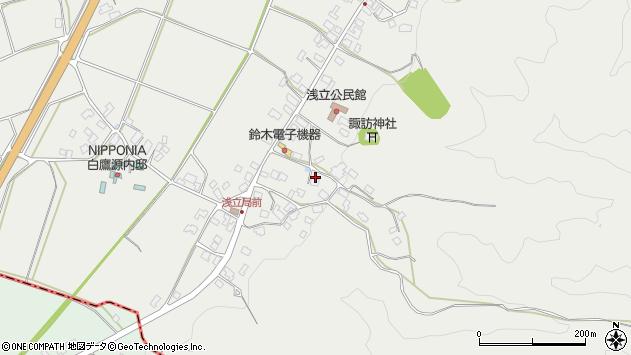 山形県西置賜郡白鷹町浅立4067周辺の地図
