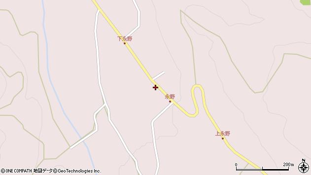 山形県上山市永野12周辺の地図