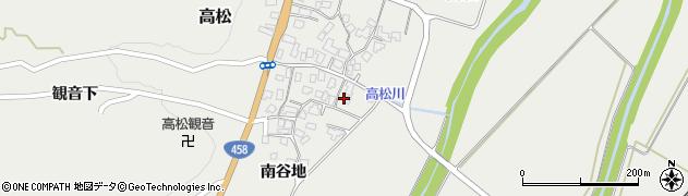山形県上山市高松93周辺の地図