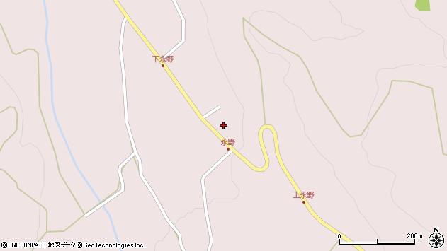 山形県上山市永野39周辺の地図