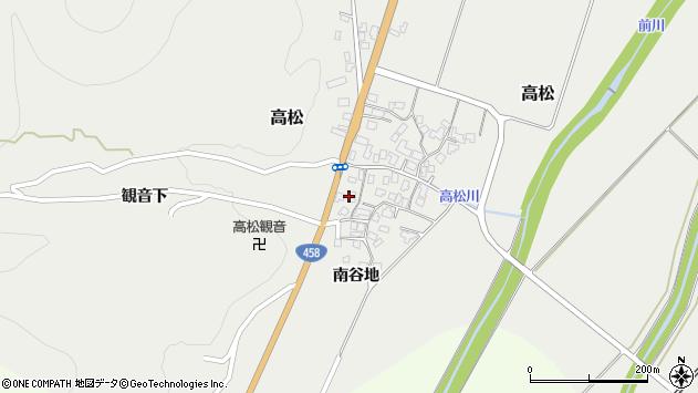 山形県上山市高松65周辺の地図