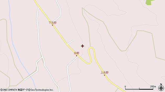 山形県上山市永野38周辺の地図
