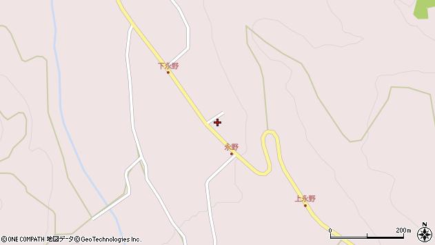山形県上山市永野41周辺の地図