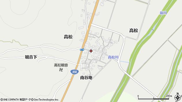 山形県上山市高松88周辺の地図