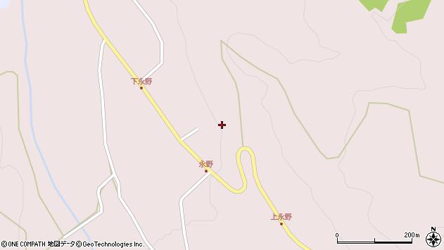 山形県上山市永野110周辺の地図