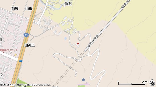 山形県上山市金生1089周辺の地図