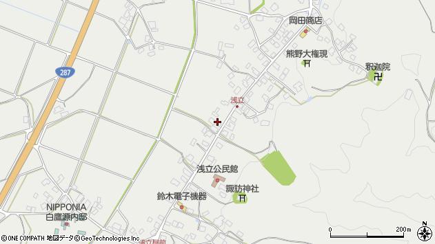 山形県西置賜郡白鷹町浅立3841周辺の地図