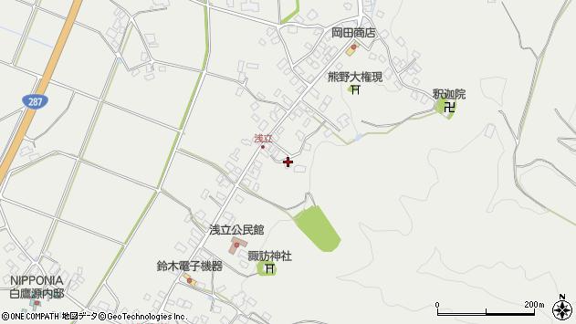 山形県西置賜郡白鷹町浅立3802周辺の地図