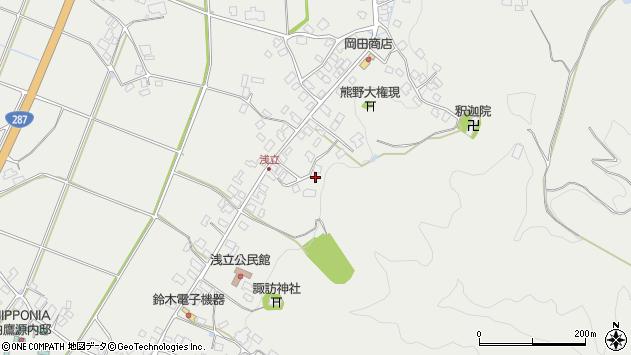 山形県西置賜郡白鷹町浅立3809周辺の地図