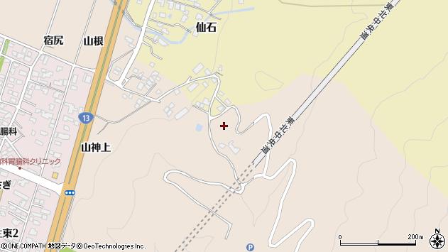 山形県上山市金生1299周辺の地図