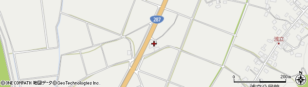 山形県西置賜郡白鷹町浅立614周辺の地図