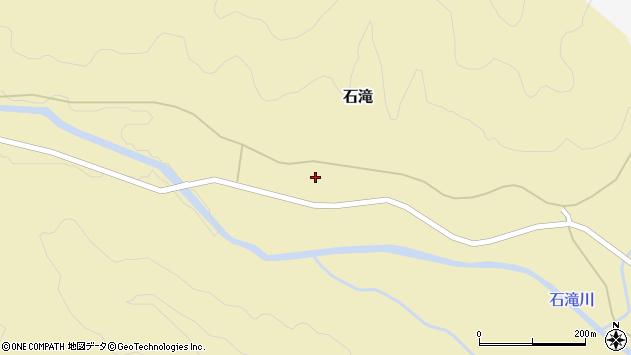 山形県西置賜郡小国町石滝249周辺の地図