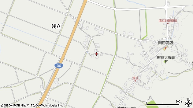 山形県西置賜郡白鷹町浅立819周辺の地図