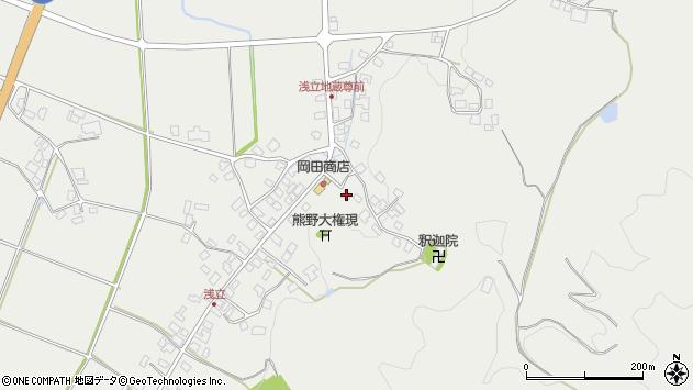 山形県西置賜郡白鷹町浅立3725周辺の地図