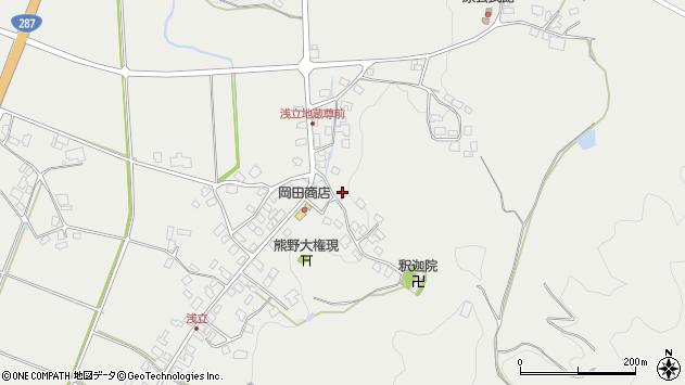 山形県西置賜郡白鷹町浅立3697周辺の地図