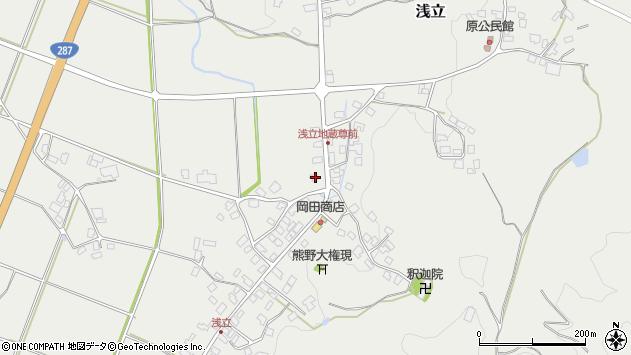 山形県西置賜郡白鷹町浅立2675周辺の地図