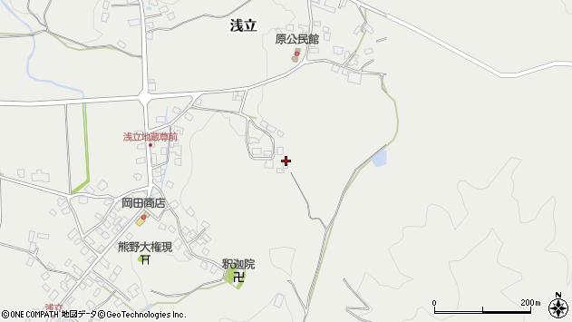 山形県西置賜郡白鷹町浅立3553周辺の地図