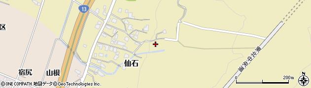 山形県上山市仙石1610-3周辺の地図