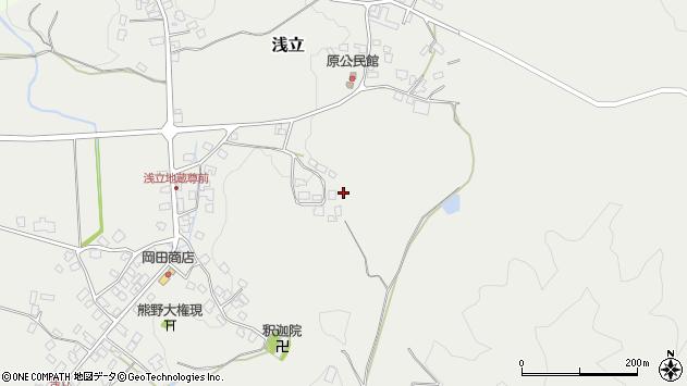 山形県西置賜郡白鷹町浅立柳周辺の地図