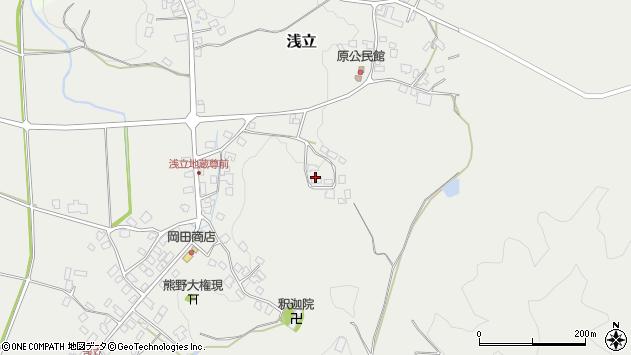 山形県西置賜郡白鷹町浅立3559周辺の地図