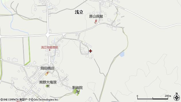 山形県西置賜郡白鷹町浅立3564周辺の地図