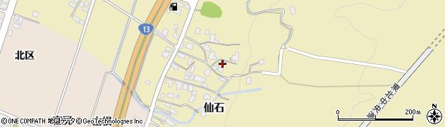 山形県上山市仙石屋敷裏340周辺の地図