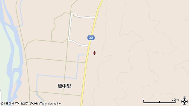 山形県西置賜郡小国町越中里469周辺の地図