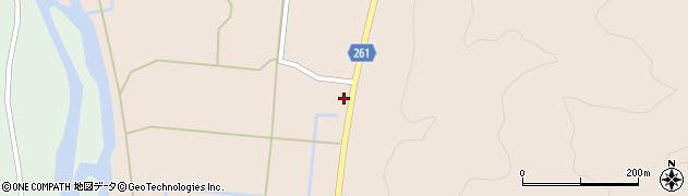 山形県西置賜郡小国町越中里263周辺の地図