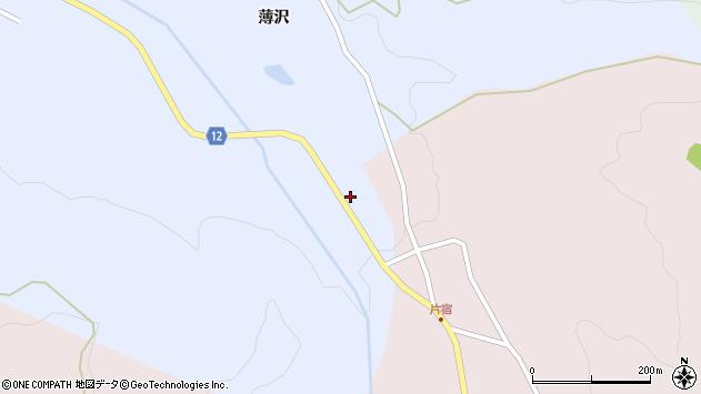 山形県上山市高野上河原161周辺の地図