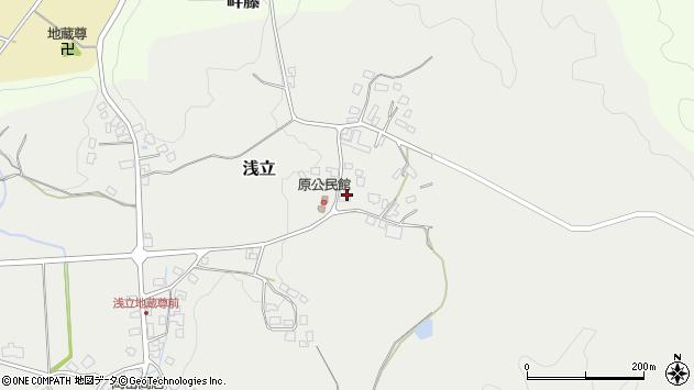 山形県西置賜郡白鷹町浅立2995周辺の地図
