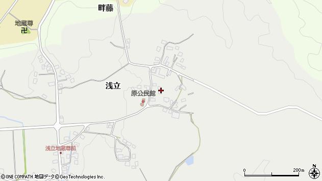 山形県西置賜郡白鷹町浅立2992周辺の地図