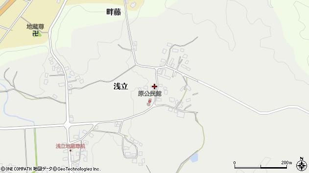 山形県西置賜郡白鷹町浅立2887周辺の地図