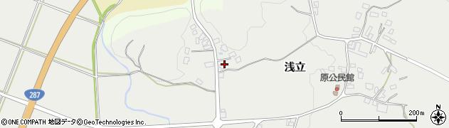 山形県西置賜郡白鷹町浅立2817周辺の地図
