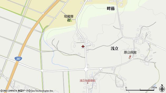 山形県西置賜郡白鷹町浅立2735周辺の地図