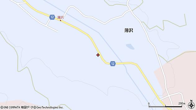 山形県上山市高野上河原121周辺の地図