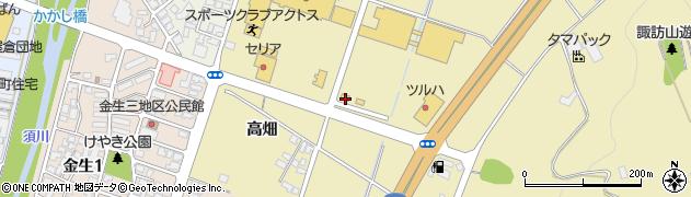 山形県上山市仙石梅ノ木774周辺の地図