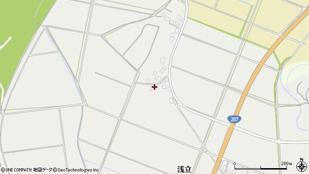 山形県西置賜郡白鷹町浅立2148周辺の地図