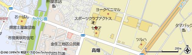 山形県上山市仙石元糸目周辺の地図